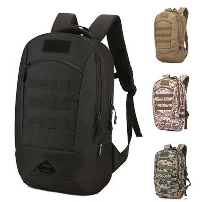35L Hiking Camping Bag Military Tactical Backpack Molle Rucksack Camo Outdoor
