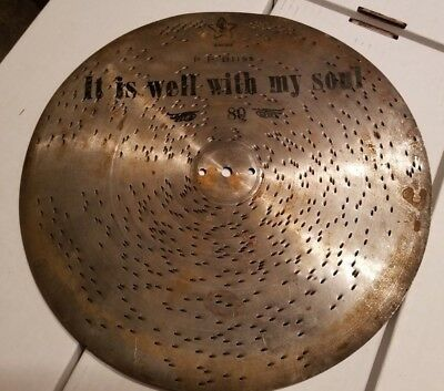 """12"""" Music Box Disc - It is Well with My Soul - PP Bliss marked """"80"""" and """"Swiss"""""""