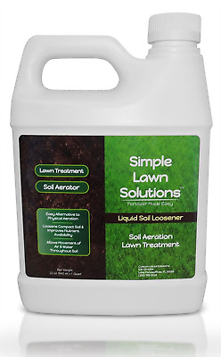 Liquid Aerating Soil Loosener- Aerator Soil Conditioner- No Mechanical or Core A