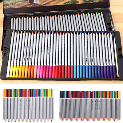 1 Box Colored Pencils 24/36/48/72 Colors Artist Drawing Sketching Gift Non-toxic