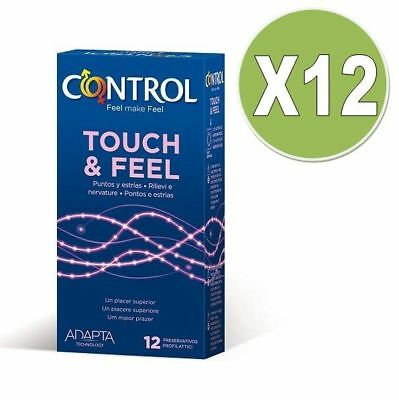Preservativo Especial Control Touch And Feel 12 Unid Pack 12 +Regalito