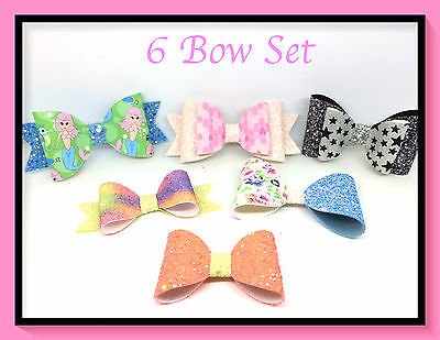 NEW.. Plastic Hair Bow Templates Make Your Own Hair Bows, Slides & Bands ..NEW..