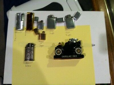 Lot 8 Collectible Lighters