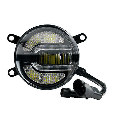 2 in 1 Daytime Running Lights And Fog Light with Approval 12/24V Toyota NEW