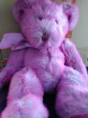 Teddy Bear Puplish Pink Luv'ums