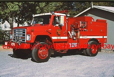 Fire Apparatus Slide, Engine 4456, CDF / CA, 1987 International 4x4