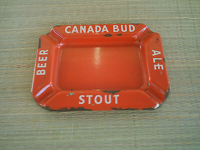 """""""Canada Bud"""" Beer, Stout, Ale Ashtray"""