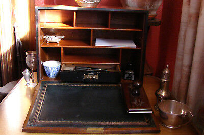 A  Victorian Travelling Stationery & Writing Box