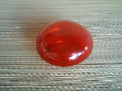 Red glass globe or lens cover lamp/globe ?