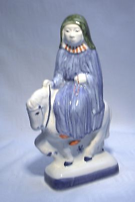 Rye Pottery Canterbury Tales The Nun Prioress