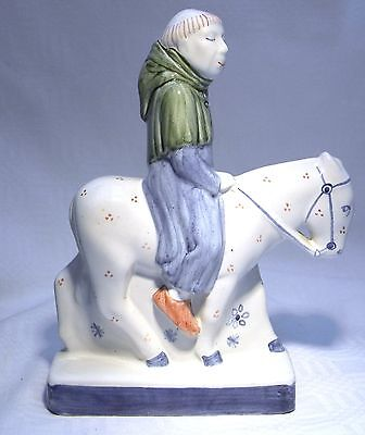 Rye Pottery Canterbury Tales The Friar