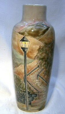 """Cobridge Pottery 8.3/4""""    Vase    The Steps 1St Piece Produced With Paperwork"""