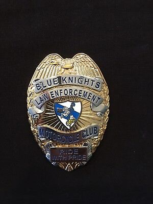 Blue Knights Shield - Blue Knights Members Only.
