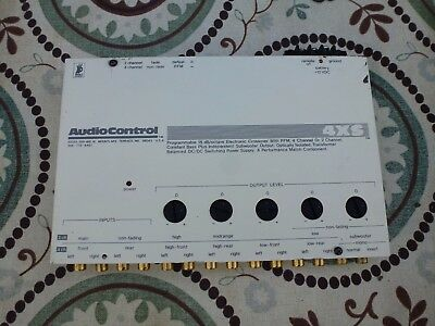 AudioControl 4XS Crossover Old School 3 Way X-OVER Free Ship USA