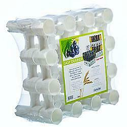 NEW Easy Drainer - 1 Tray 2 Rack 50/32 Bottles stackable up to 7 Layers