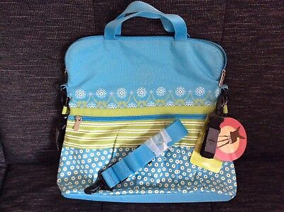 Neu Lässig Casual Buggy Bag Art. LBB13442 Blue Mist Multimix