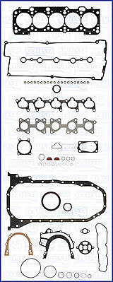 Complete set of engine gaskets AUDI 100, 200, 80, 90, A6, COUPE, QUATTRO 2.0/2.2