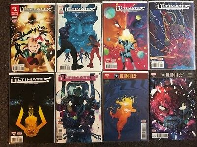 The ULTIMATES 2 (MARVEL NOW!) #1-8 (NM/M)