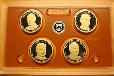 2014-S Proof Presidential Dollar Set - No Box or COA