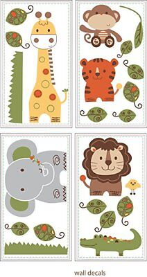 Jungle Walk Wall Decals by Kids Line Removable Reusable