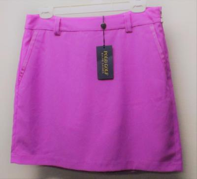 New Womens Size 6 Large Ralph Lauren Polo Golf Skorts Port Royal Pink