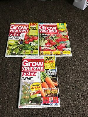 Selection Of Grow Your Own Magazines