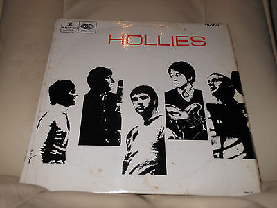 The Hollies Self Titled 1St Pressing Uk Vg Mono Pmc 1261