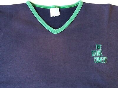 THE DIVINE COMEDY OFFICIAL 1990s TOUR T-SHIRT (from Royal Festival Hall show)