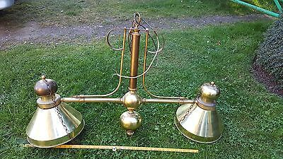 Old Brass Snooker Table Lights [Antique]?