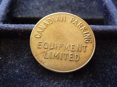 Canadian Parking Good For Parking Only Token