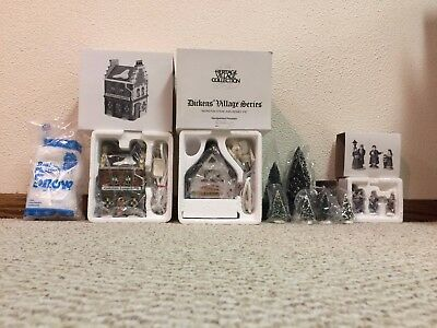"""REDUCED Dept. 56 """"Start a Tradition Set"""" from the Dickens Village Series 58327"""