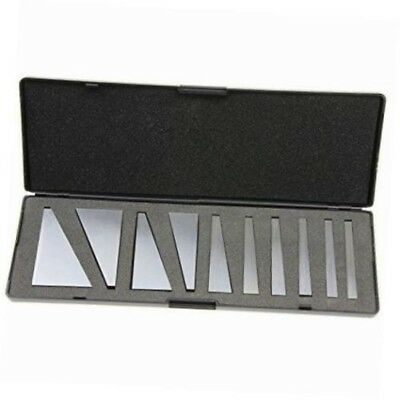 angle block set Machinist Precision Ground Tool, 10 Piece Set - 1-30 Degrees..