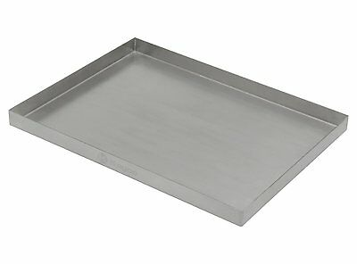 "Kegco Stainless Steel 12"" x 9"" Surface Mount BEER Drip Tray - No Drain"