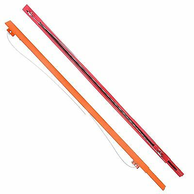 GypTool 4 ft. Drywall Lifter Panel Lift Installation Jack Extension - Orange