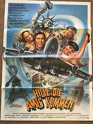 """national Lampoon's European Vacation"" (1985) German Poster"