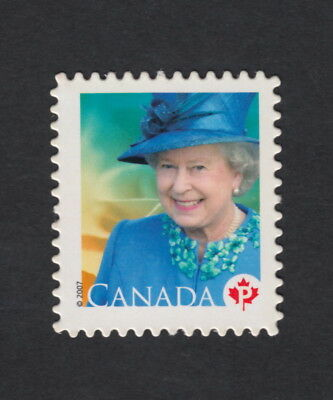 ma. QUEEN ELIZABETH II, Quarterly pack Die cut bklt stamp Canada 2007 #2248i MNH