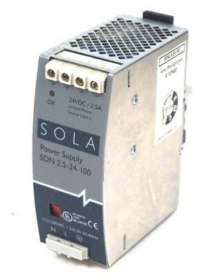 Used Sola Sdn 2.5-24-100 Power Supply