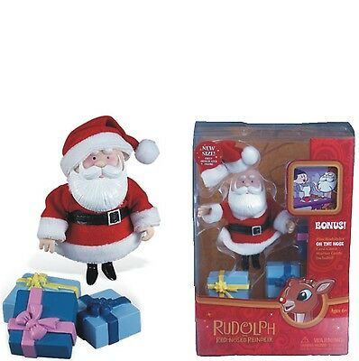 Christmas - Toy - Rudolph - Deluxe Poesable Holiday Figure - Santa Claus