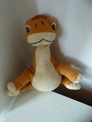"""Land Before Time """"Littlefoot"""" soft toy, 25cm head to tail, good condition"""