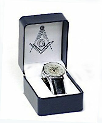 Masonic  band Watch new with Masonic symbol