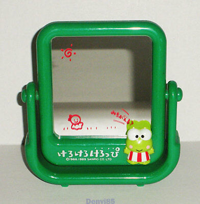 VINTAGE! 1989 Sanrio KEROPPI Swinging Mirror from JAPAN!