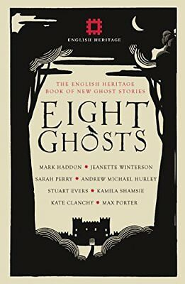 Eight Ghosts: The English Heritage Book by Jeanette Winterson New Hardcover Book