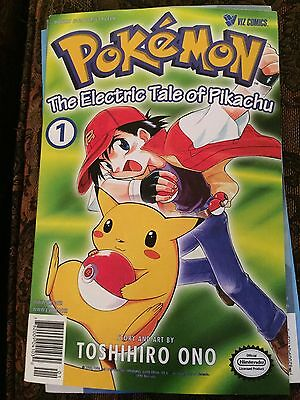 Pokemon - The Electric Tale of Pikachu  1, 2, 3     (3 magazines)