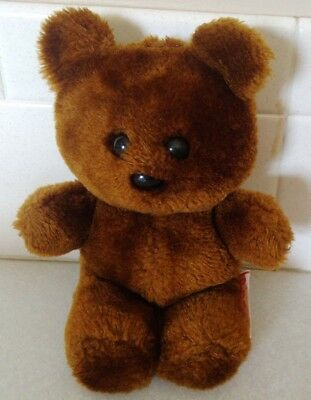 "POOKY Teddy Bear Brown Dakin Plush VTG HTF Stuffed 1983 Vintage 8"" Garfield toy"