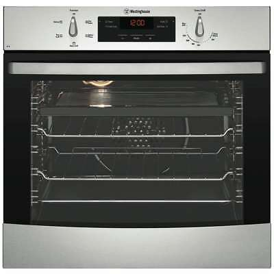 Westinghouse 60cm 80L Electric Wall Oven WVE615S