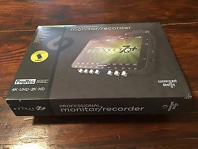 Convergent Design Odyssey7Q+ OLED Monitor & 4K Recorder w/ permanent Raw Bundle!