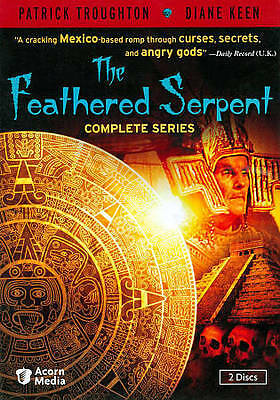 The Feathered Serpent: The Complete Series (DVD, 2011, 2-Disc Set) NEW SEALED