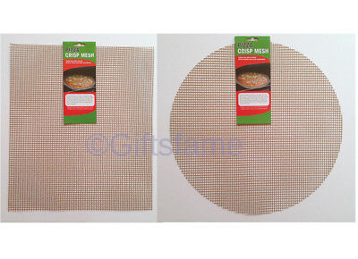 Pizza Mesh Net Oven Sheet / Tray Baking For Crispy Pizza Bases And Chips