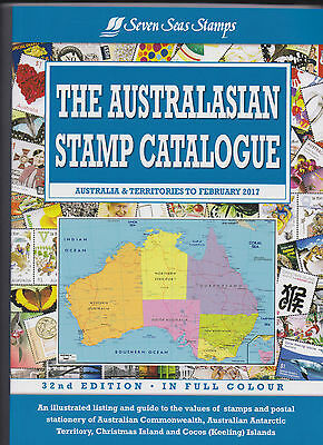 Australia 2017 32nd Edition Seven Seas Australasian Stamp Catalogue -just out