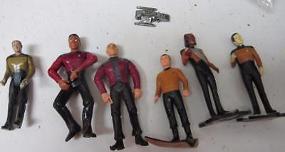 Star Trek Figures Lot, Original, Next Generation, Some Posible, Check Them Out!